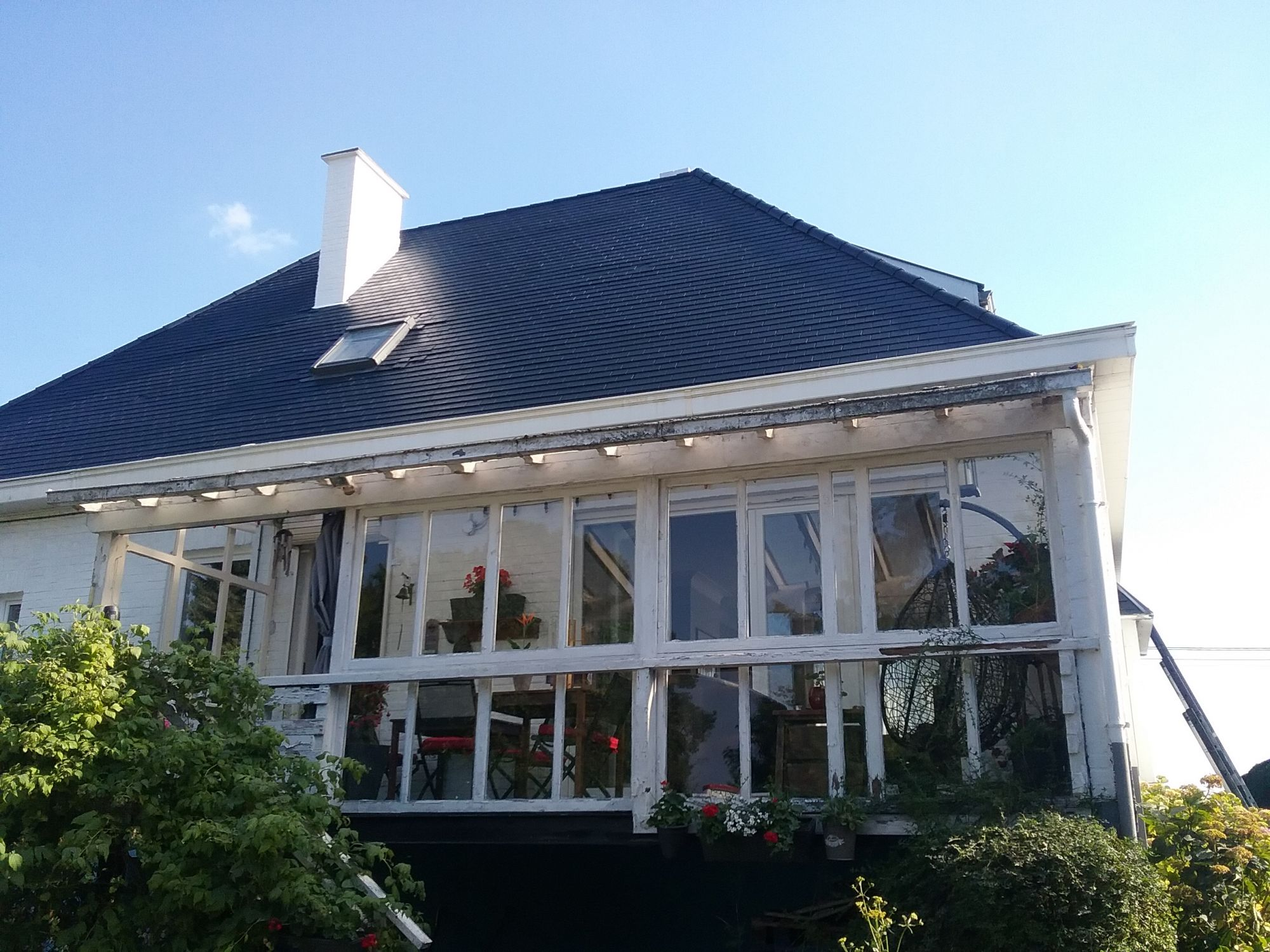 Rénovation toiture Fibro ciment - Les Compagnons du bâtiment